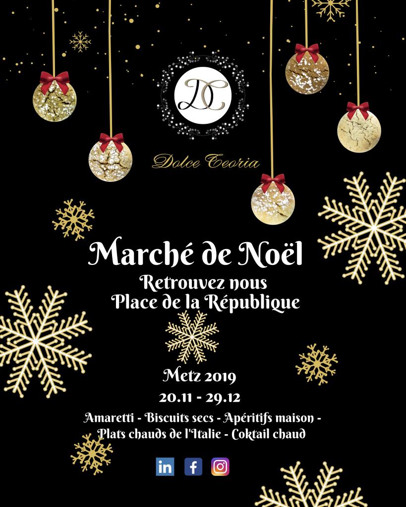 Affiche marché de Noël 2019