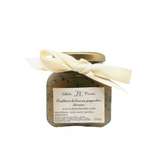 confiture kiwi gingembre